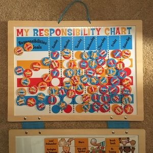 Never Used! Melissa & Doug Responsibility Chart